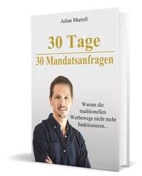 Buch 30 Tage 30 Mandatsanfragen