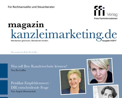 Kanzleimarketing.de Ausgabe November 2017