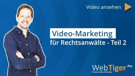 Videomarketing für Anwälte – Wie ein simples Video Ihre Google Position verbessert!